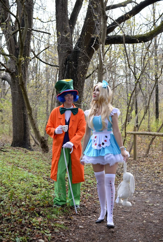 Alice in Wonderland Halloween Costume