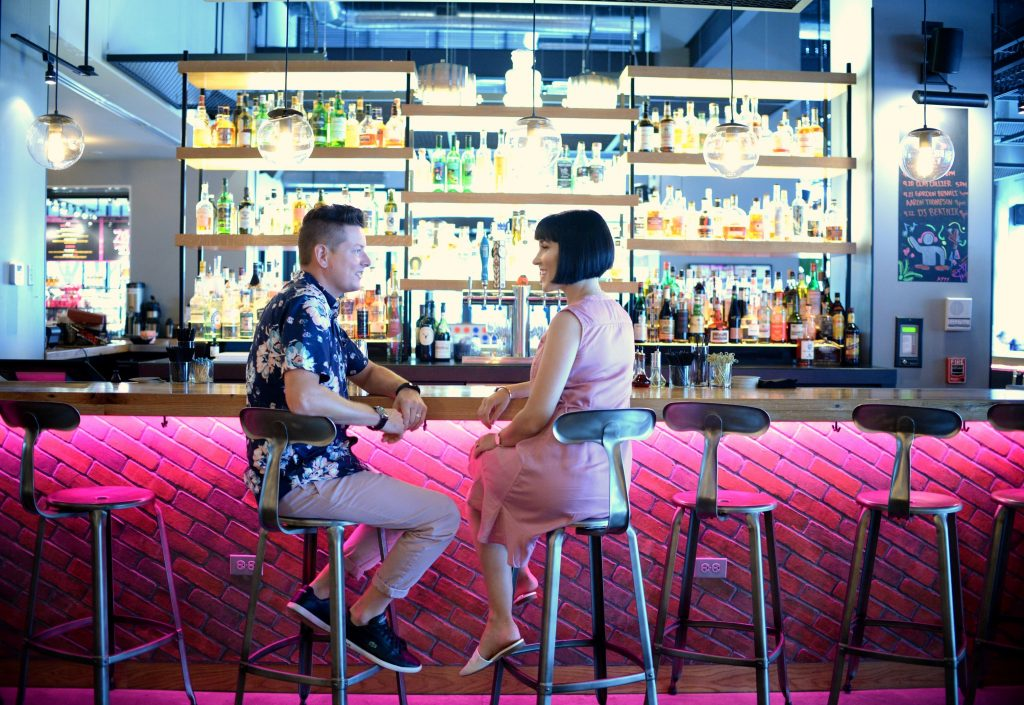 Adult Playground at the Moxy Hotel