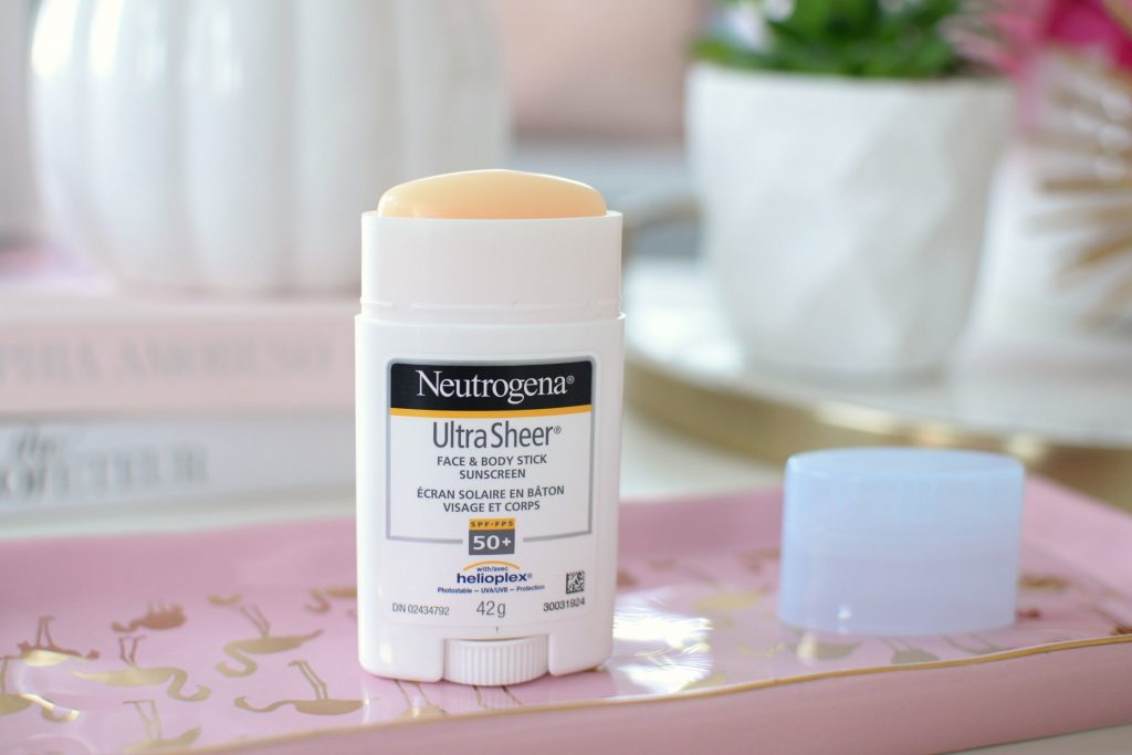 Neutrogena Ultra Sheer Face + Body Stick Sunscreen Broad Spectrum