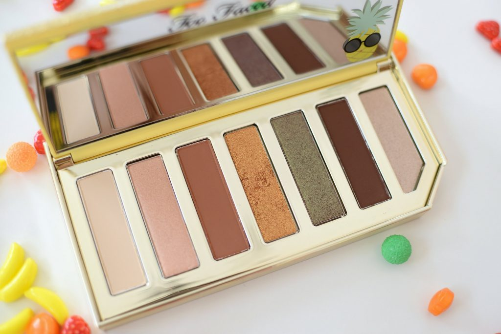 Too Faced Sparkling Pineapple Eyeshadow Palette