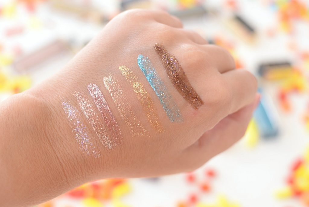 Too Faced Twinkle Twinkle Liquid Glitter Eye Shadows