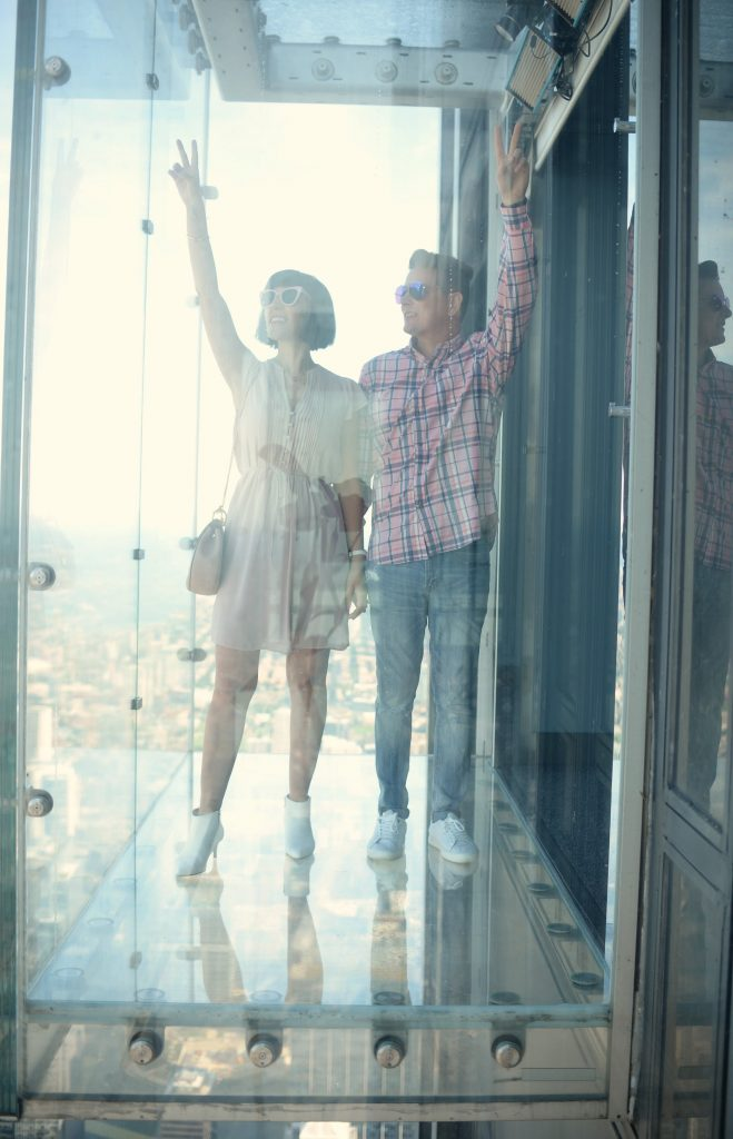Skydeck in the iconic Willis Tower