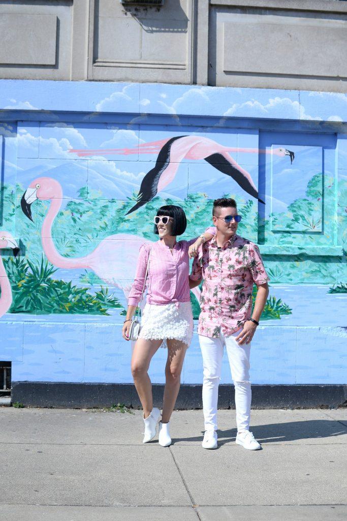 Flamingo Wall at 2601 W Division St