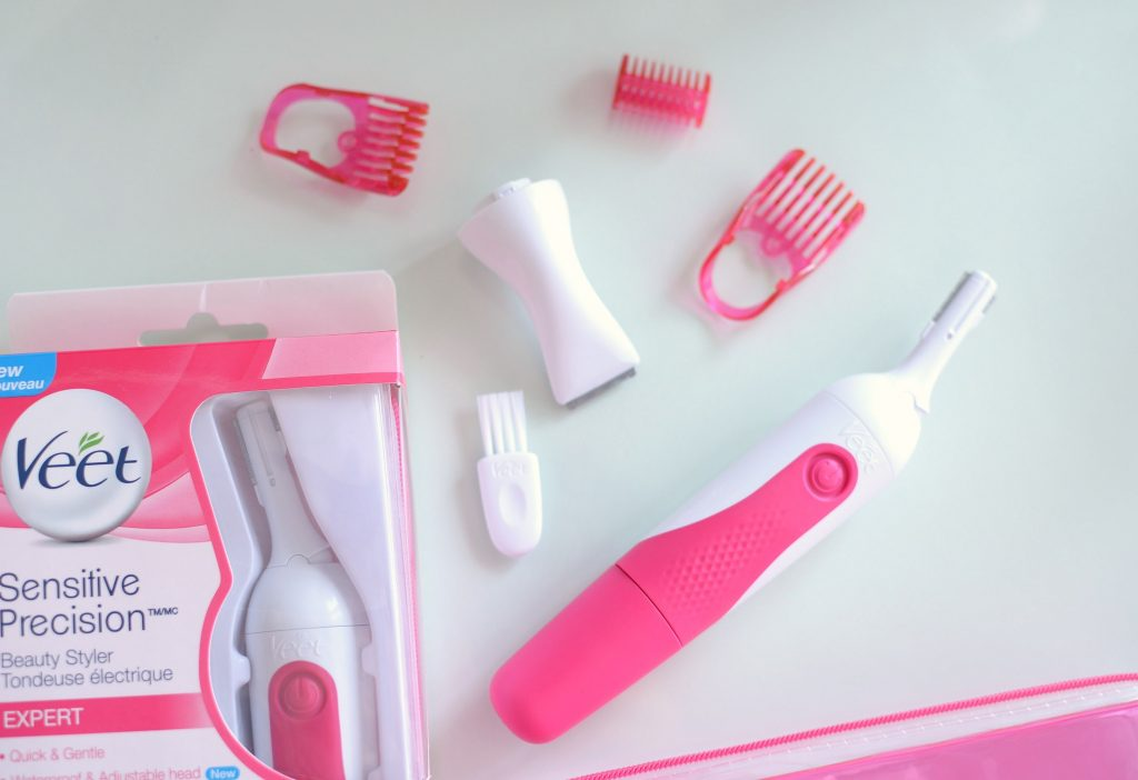 Beauty Style Giveaway, Beauty Tool Giveaway, Veet Sensitive Precision Beauty Styler Expert, Veet, hair removal, eyebrow styler, brow tool, eyebrow tool kit, veet sensitive precision, veet wax strip, hair removal cream, Canadian giveaways