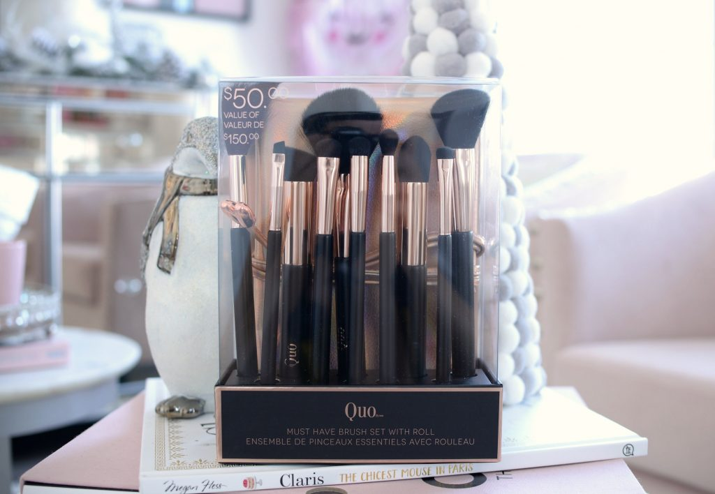 Quo Must Have Brush Set With Roll