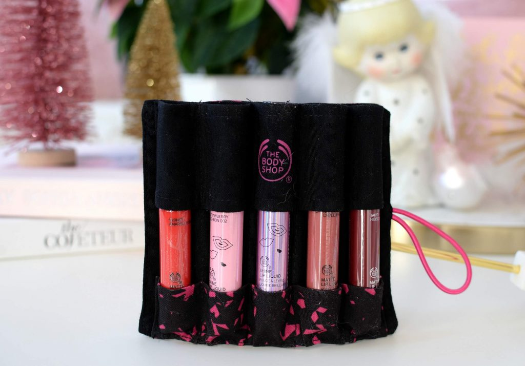 he Body Shop Lip Liquid Parade Set