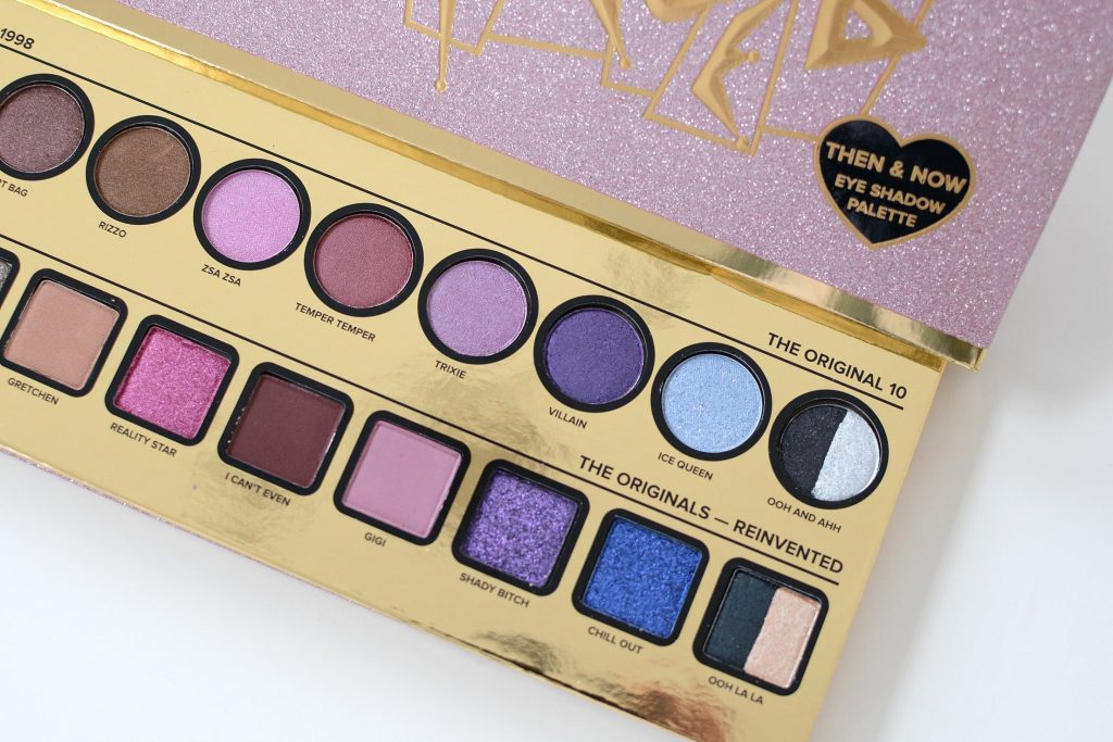 Too Faced Cheers to 20 Years Collection, Too Faced Then & Now Palette, Then & Now Palette, Too Faced Throwback Lipstick, too faced review
