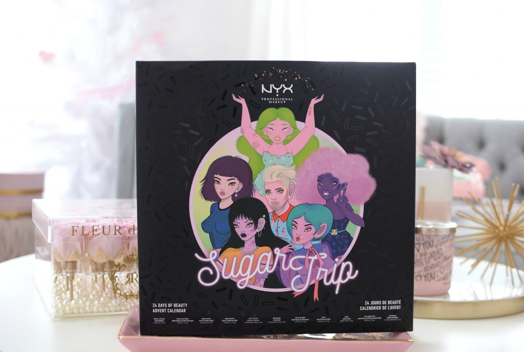 NYX Sugar Trip 24 Days of Beauty Advent Calendar