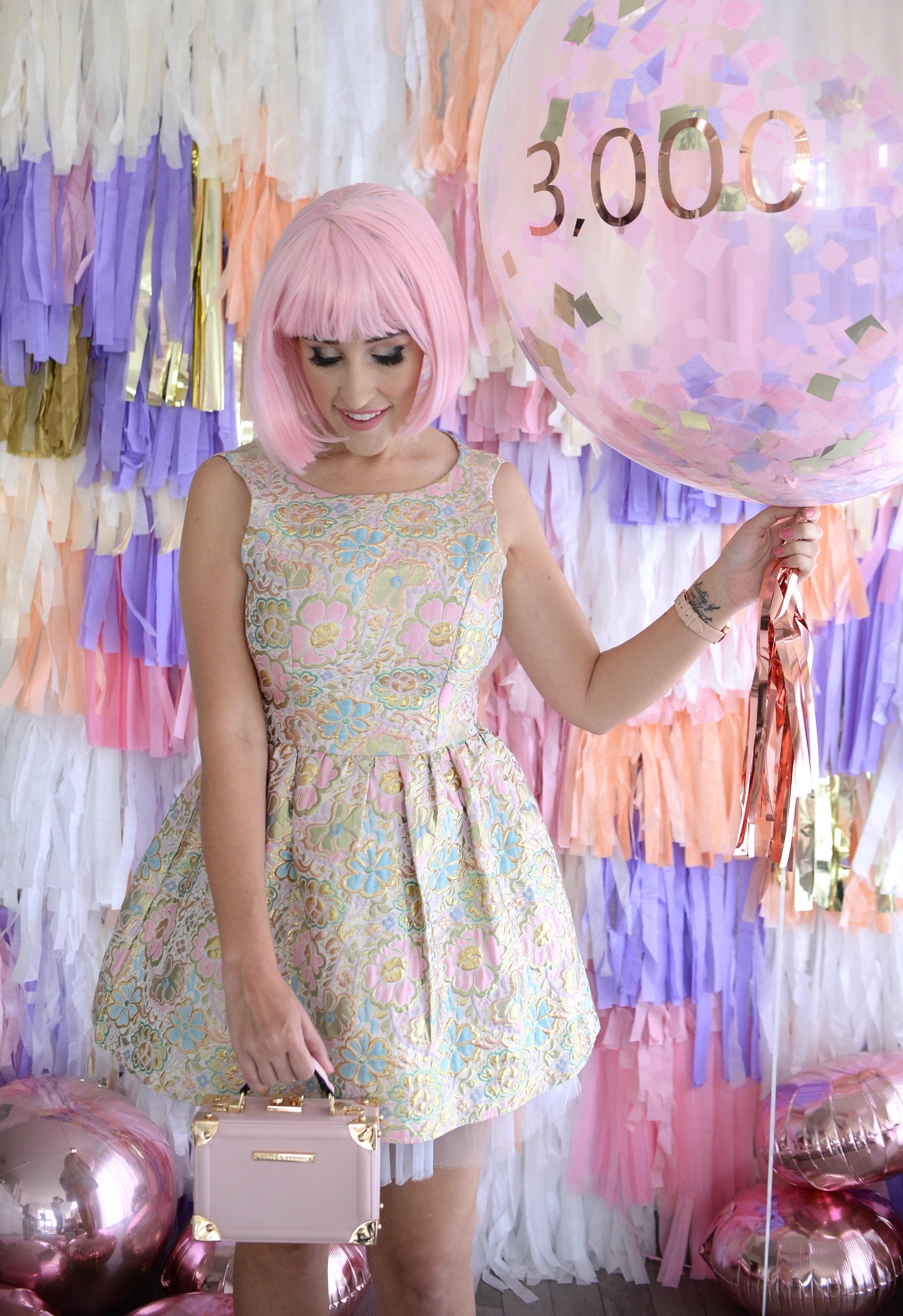 Tassel Wall Tassel Garland 3000th Blog Post The Pink Millennial 10 The Pink Millennial