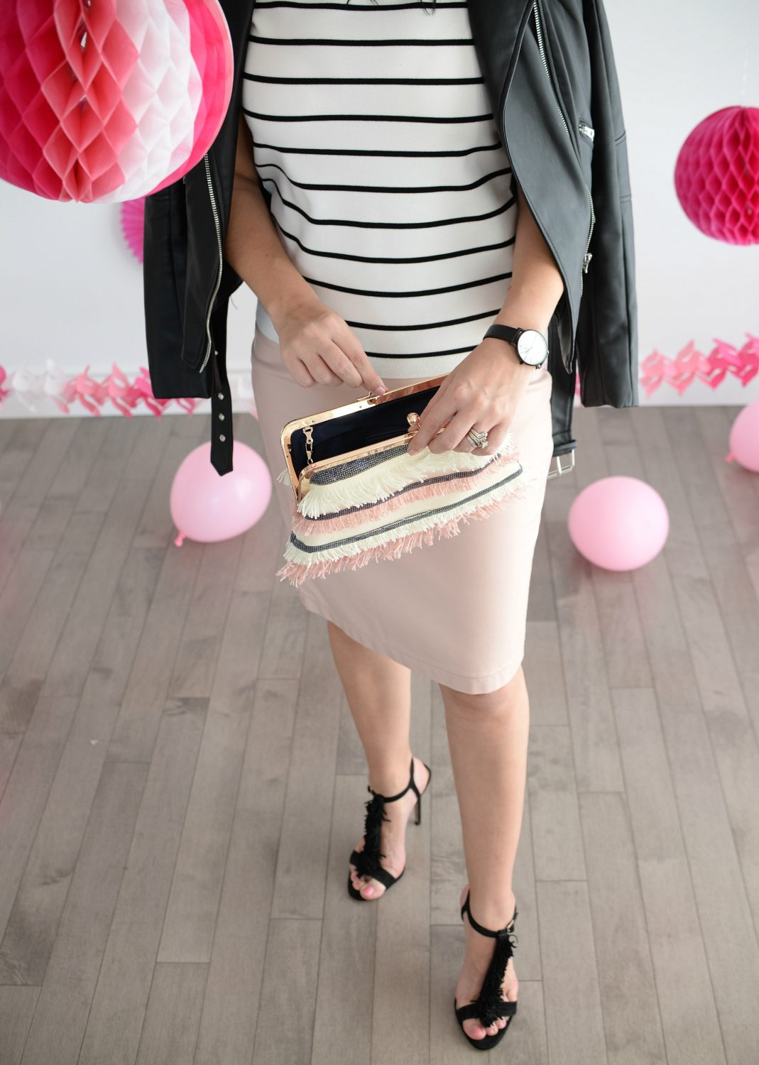 Clutch by Neiman Marcus | The Pink Millennial