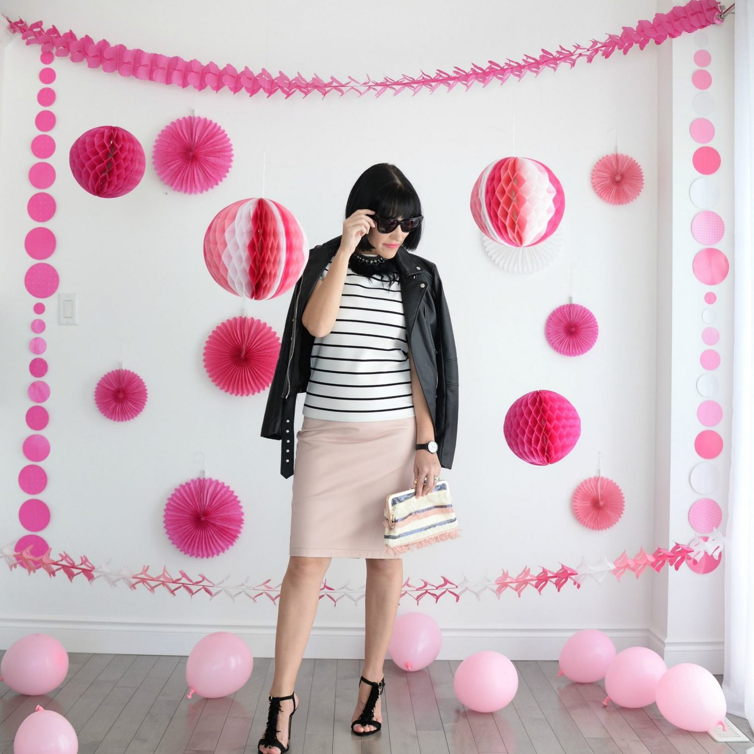 Faux Leather Jacket - Zara | The Pink Millennial