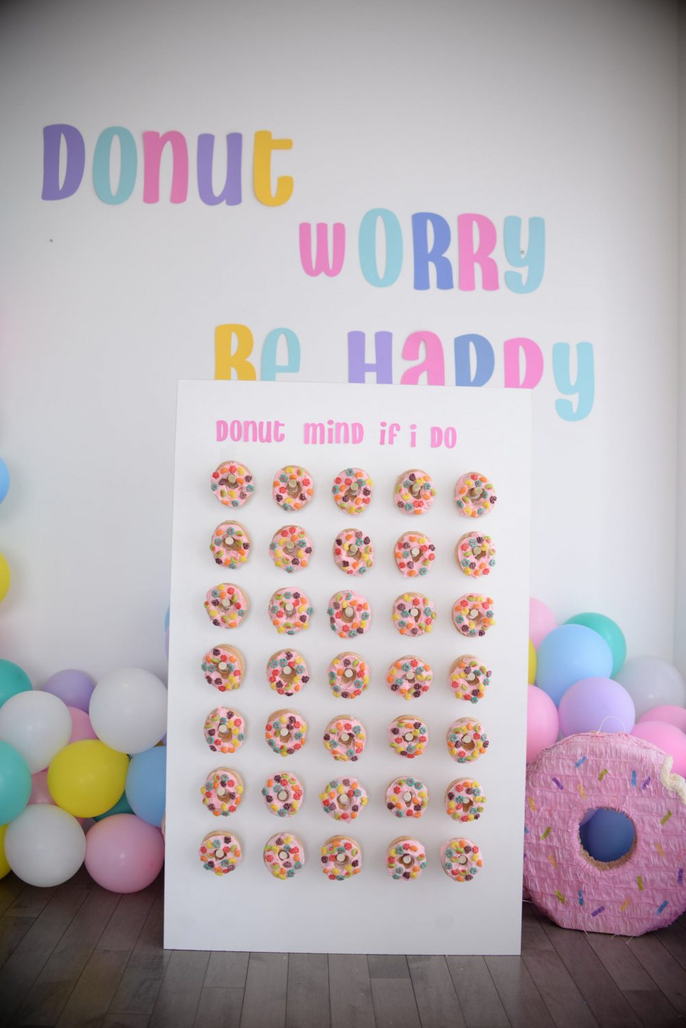 Donut Worry Be Happy | The Pink Millennial