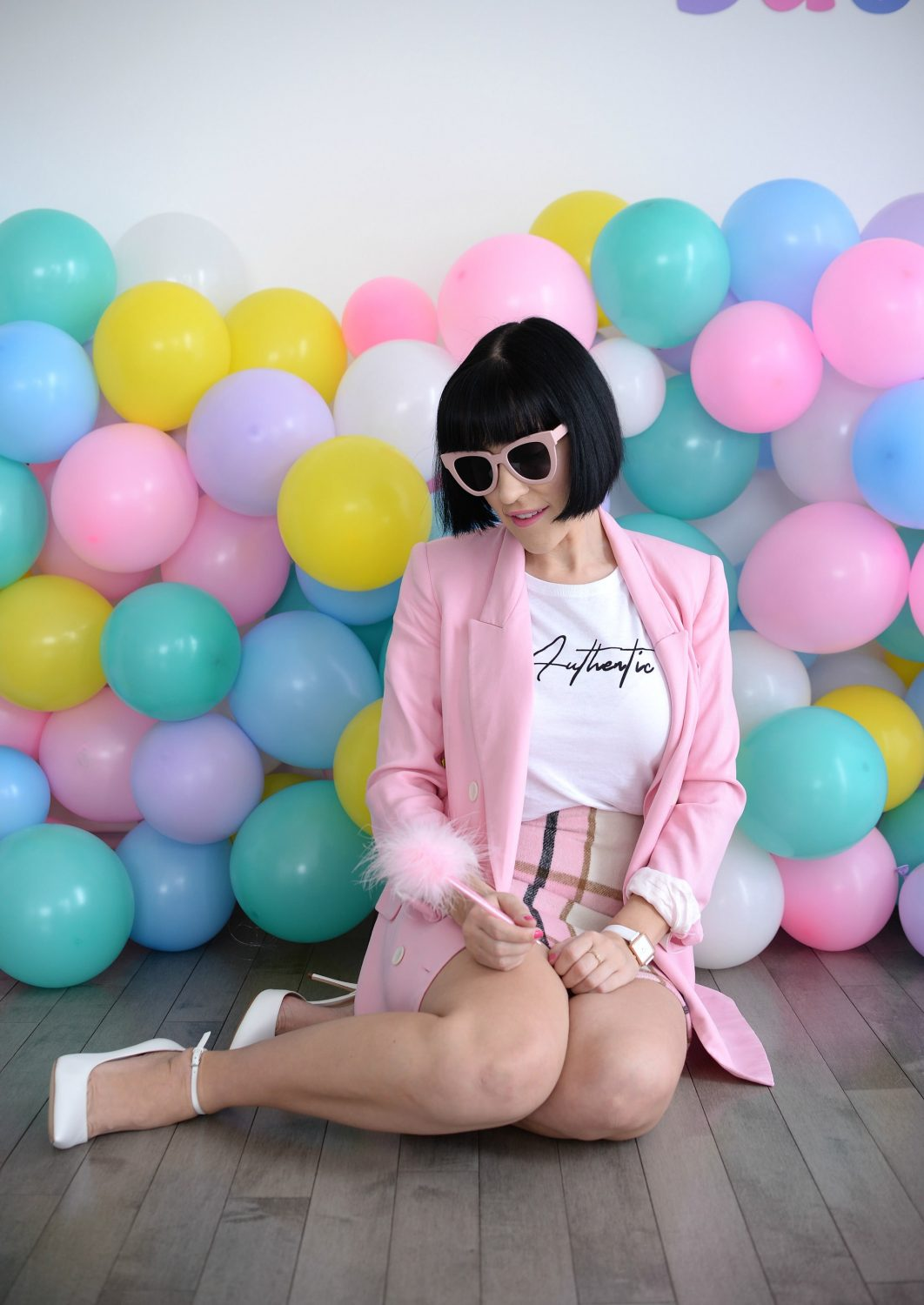 Pink Blazer from Zara | The Pink Millennial