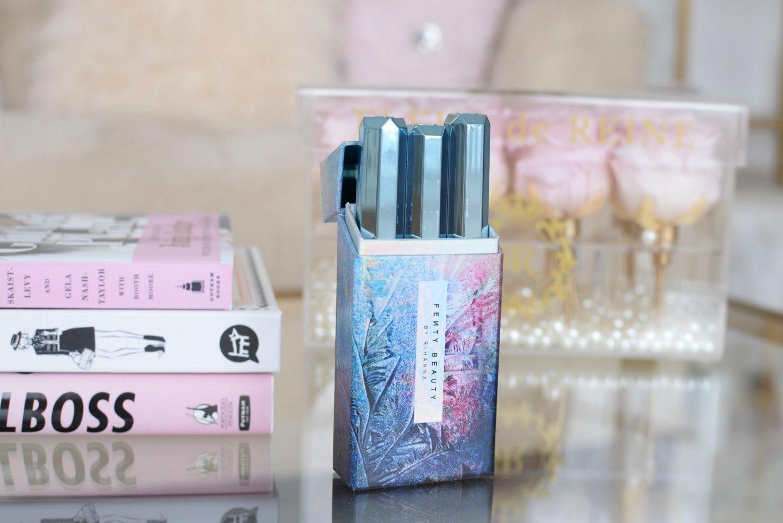 Fenty Beauty Snow Daze Frosted Metal Lipstick 3-pc Set