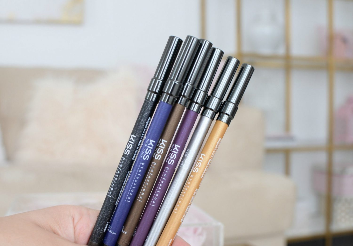 Waterproof Wonders Eyeliners by Kiss New York Professional | The Pink Millennial
