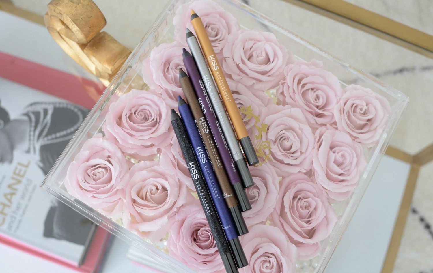 Waterproof Wonders Eyeliners  Kiss NY Pro | The Pink Millennial