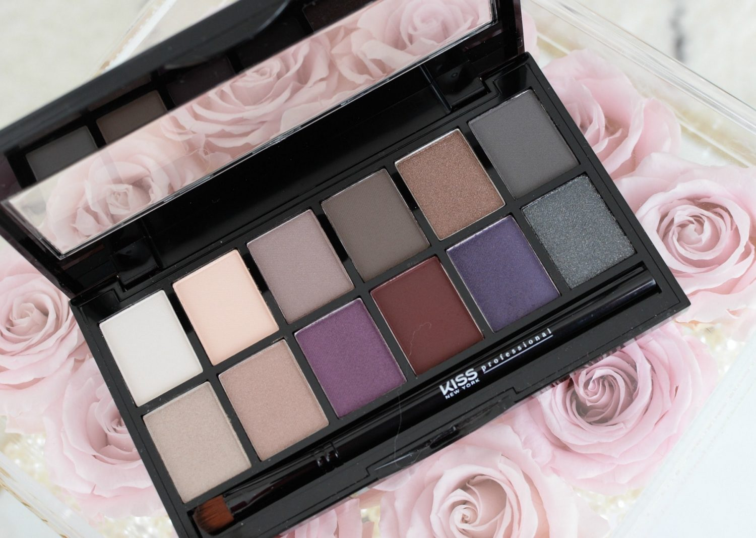 Kiss New York Goddess Eyeshadow Palette | The Pink Millennial