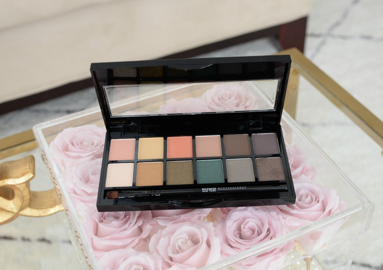 Kiss NY Professional Goddess Eyeshadow Palette | The Pink Millennial