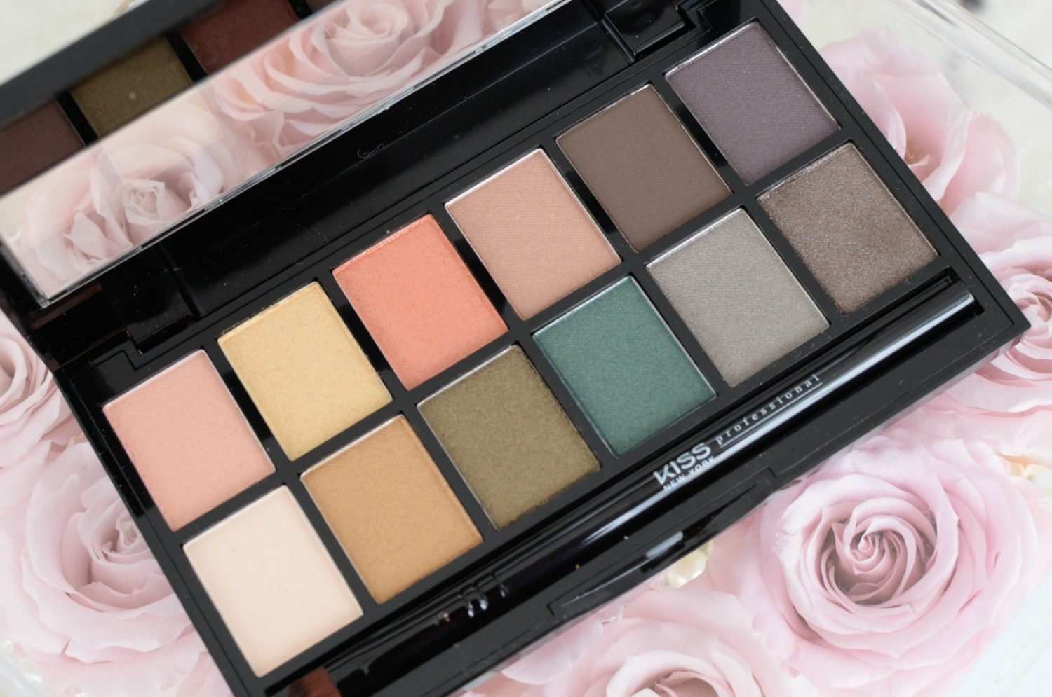 Kiss NY Pro Goddess Eyeshadow Palette | The Pink Millennial