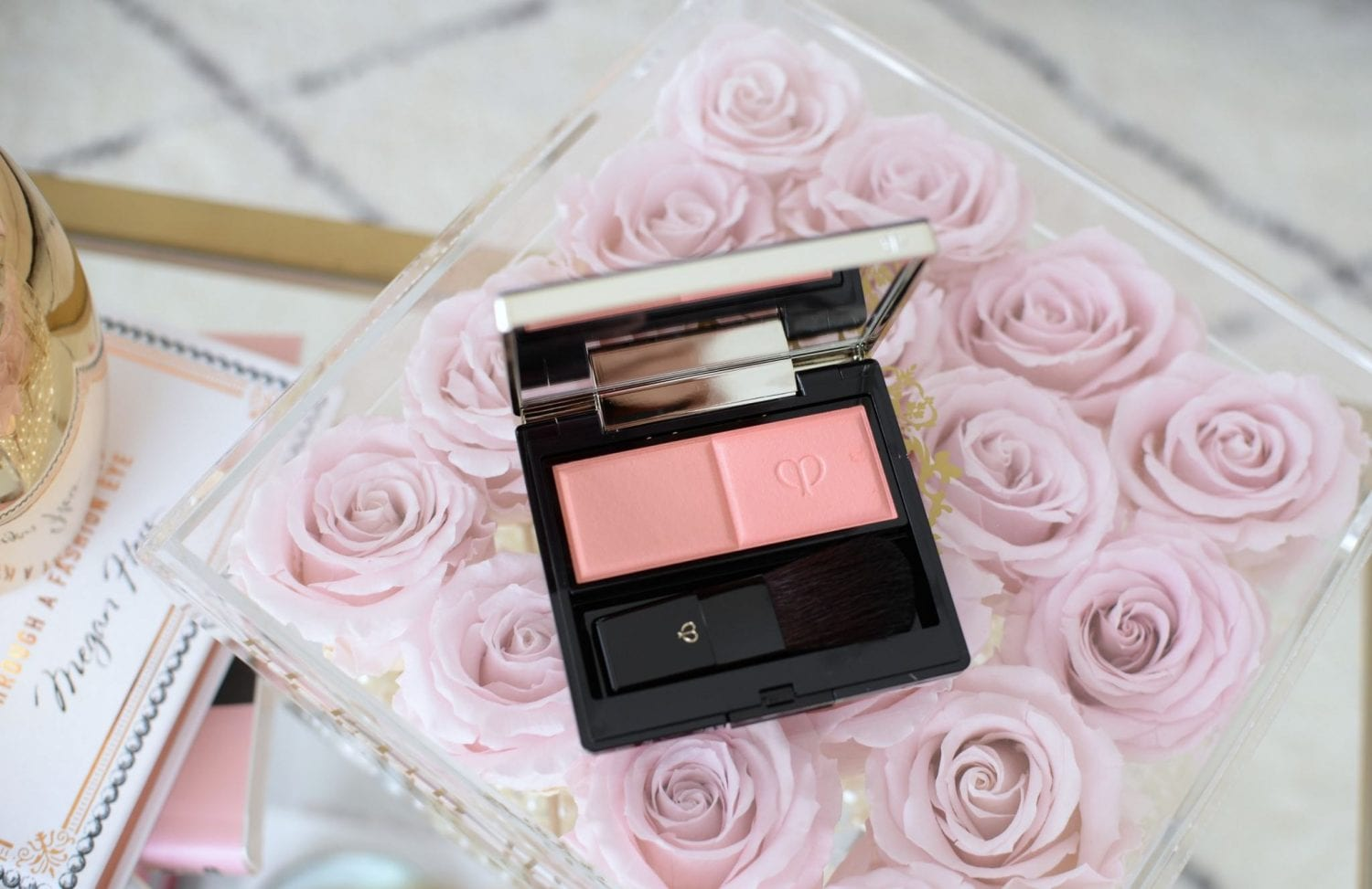 Soft Romantic Pink Makeup Look featuring Cle de Peau (19)
