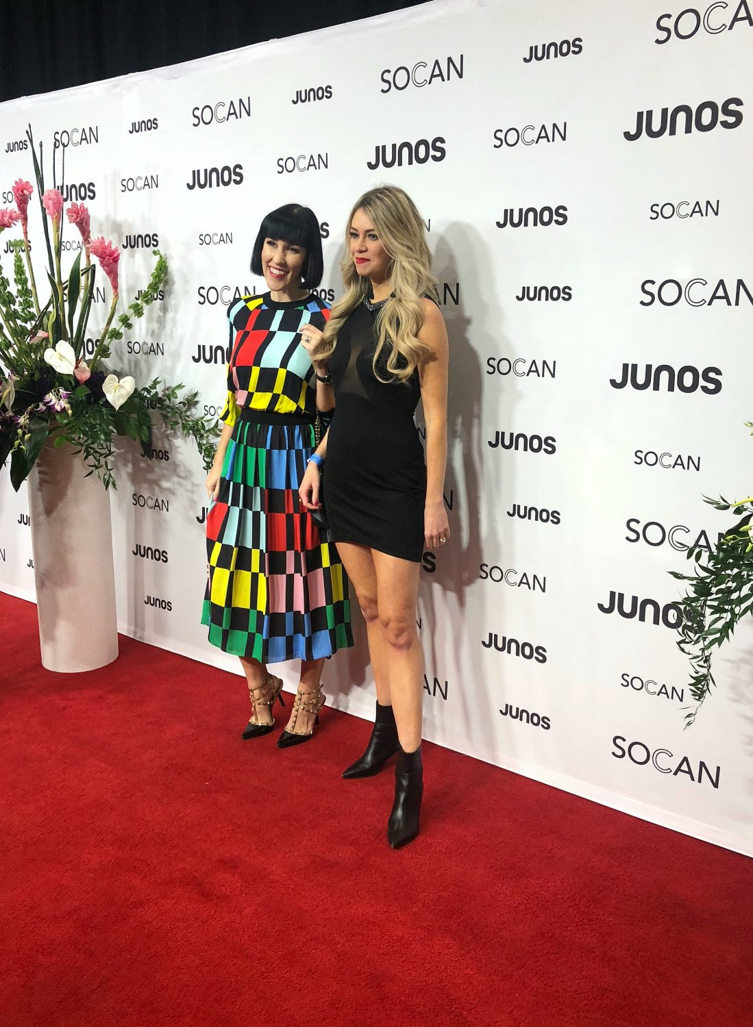 Red Carpet JUNOS 2019 London Ontario - Pursuing Pretty & The Pink Millennial