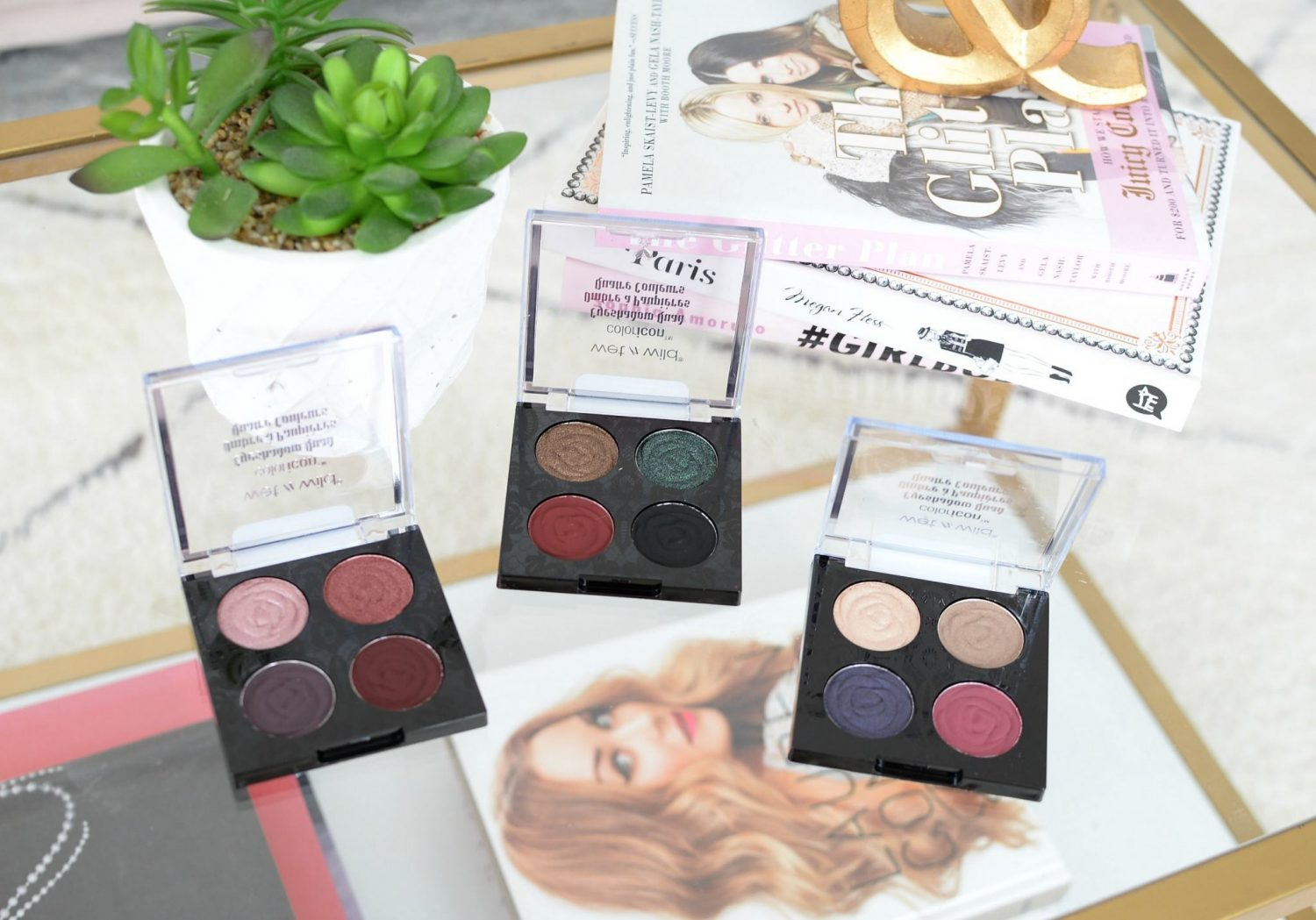 Wet N' Wild Rebel Rose Color Icon Eyeshadow Quad