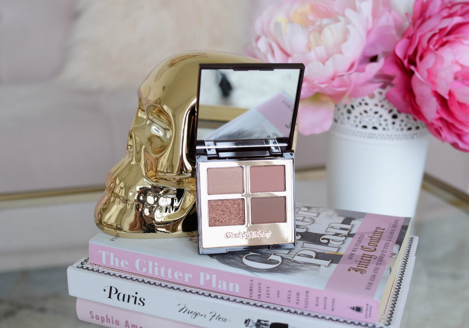 Charlotte Tilbury Luxury Palette Color-Coded Eyeshadow in Pillow Talk