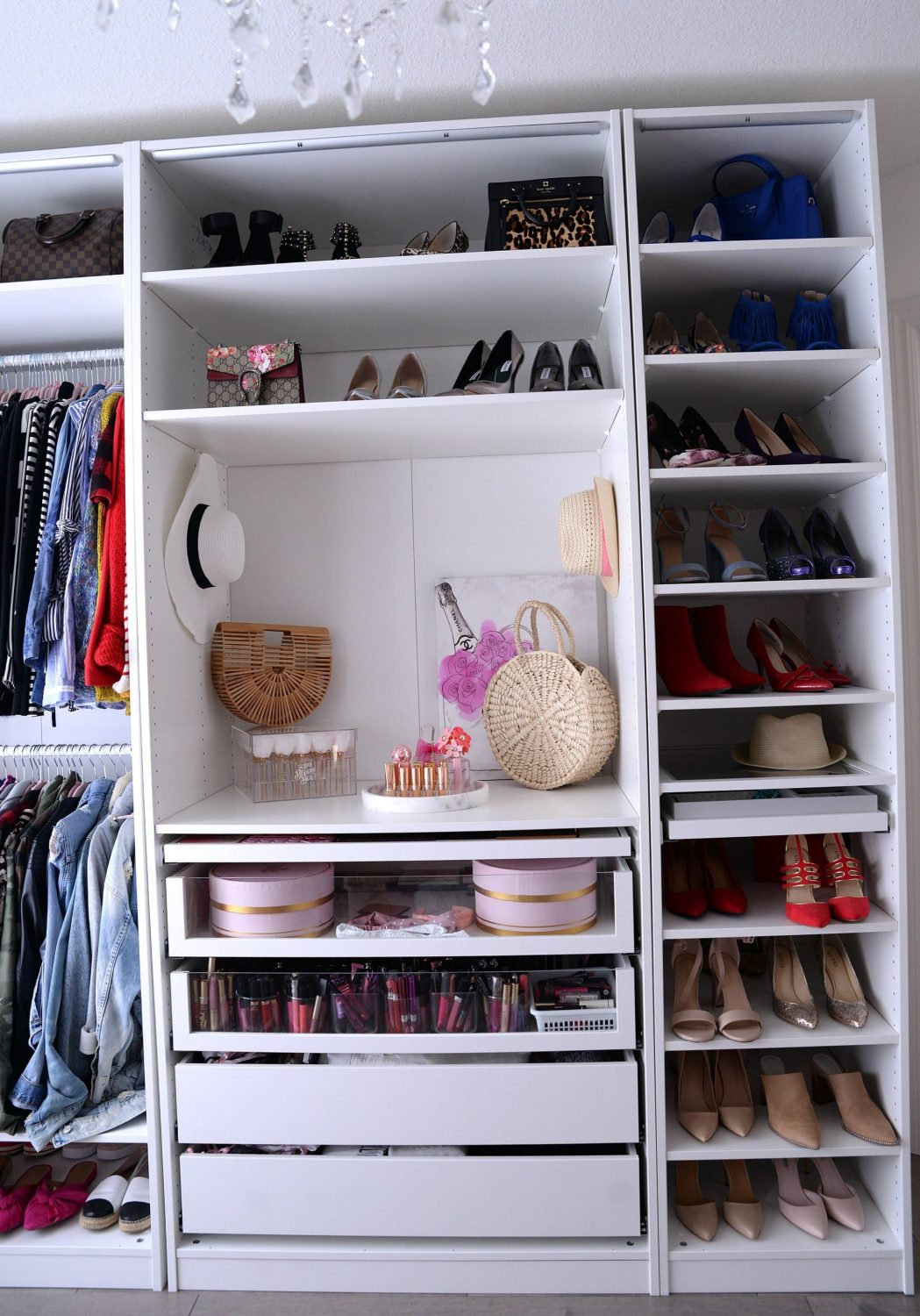 Helpful Closet Organization Tips Featuring The Ikea Pax Wardrobe