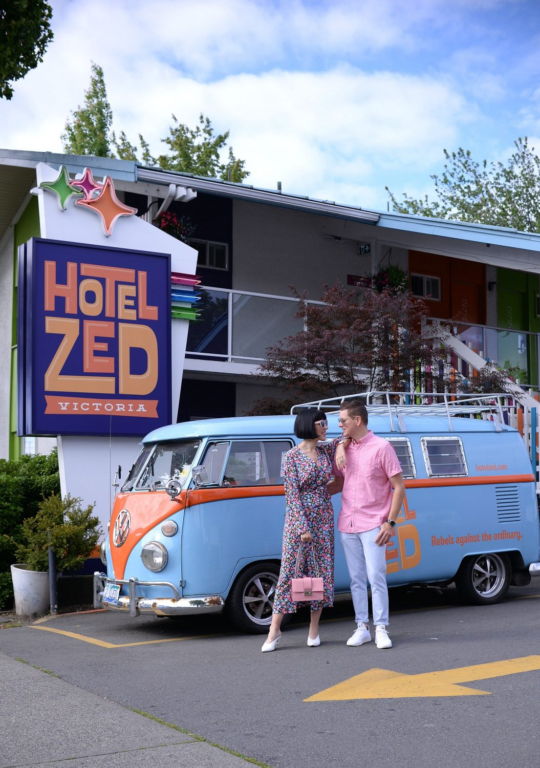 A Colourful Stay At Hotel Zed