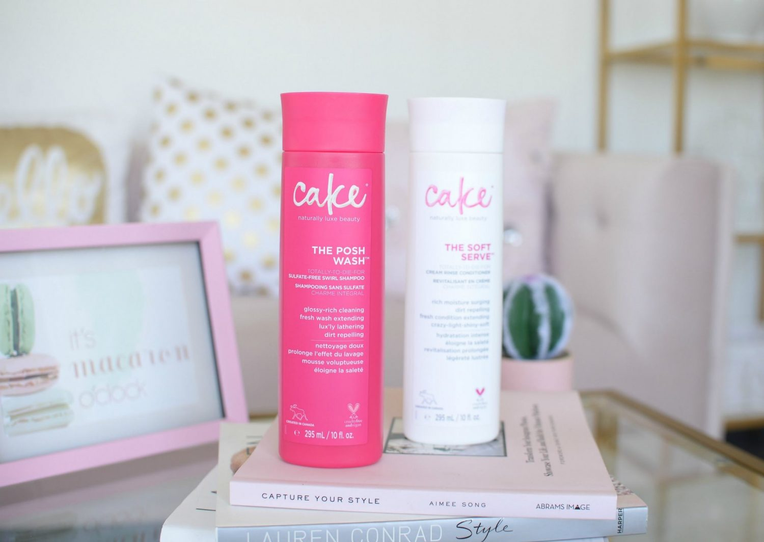 Cake Beauty The Posh Wash and The Soft Serve Cream Rinse Conditioner