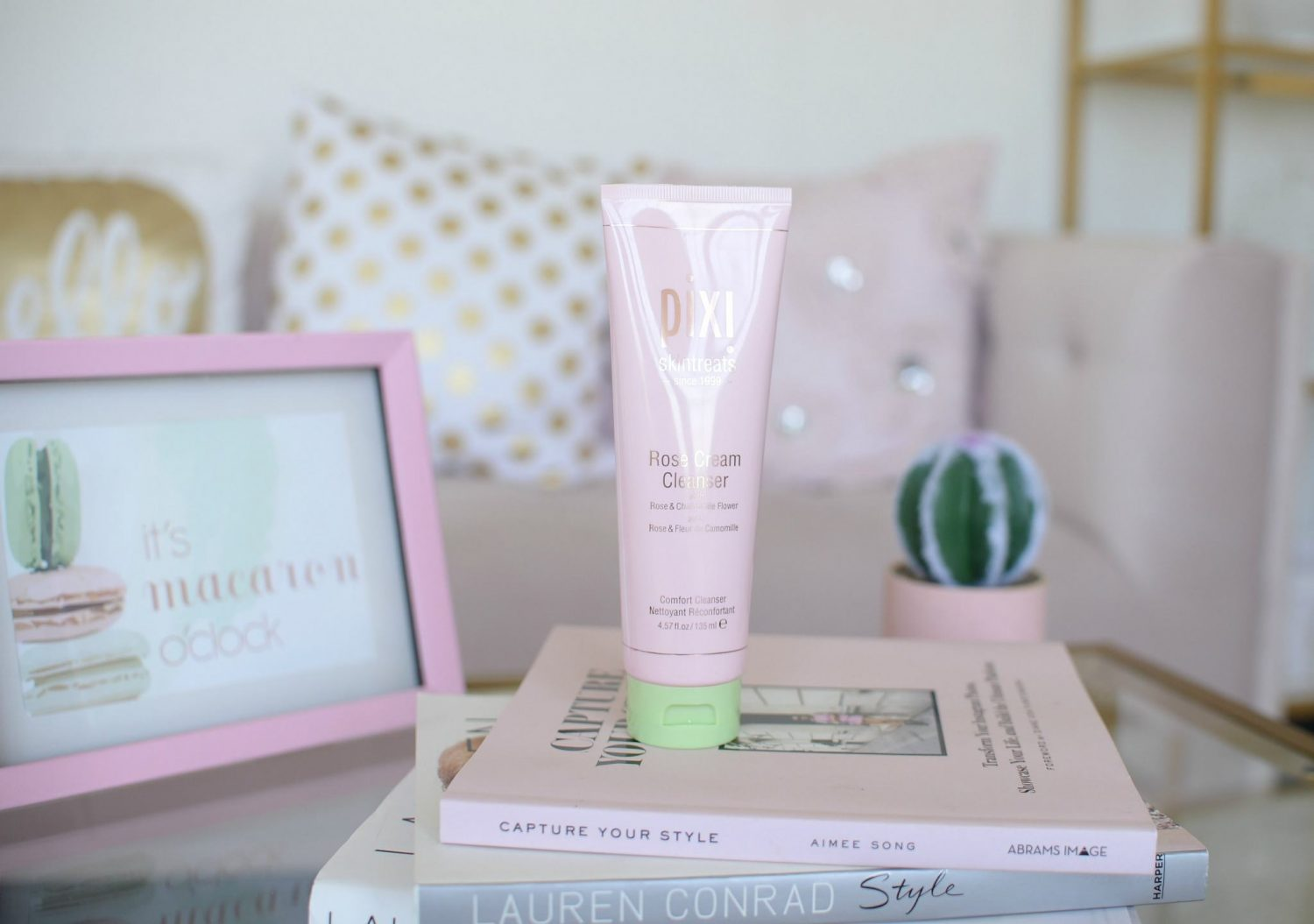 Pixi Rose Cream Cleanser