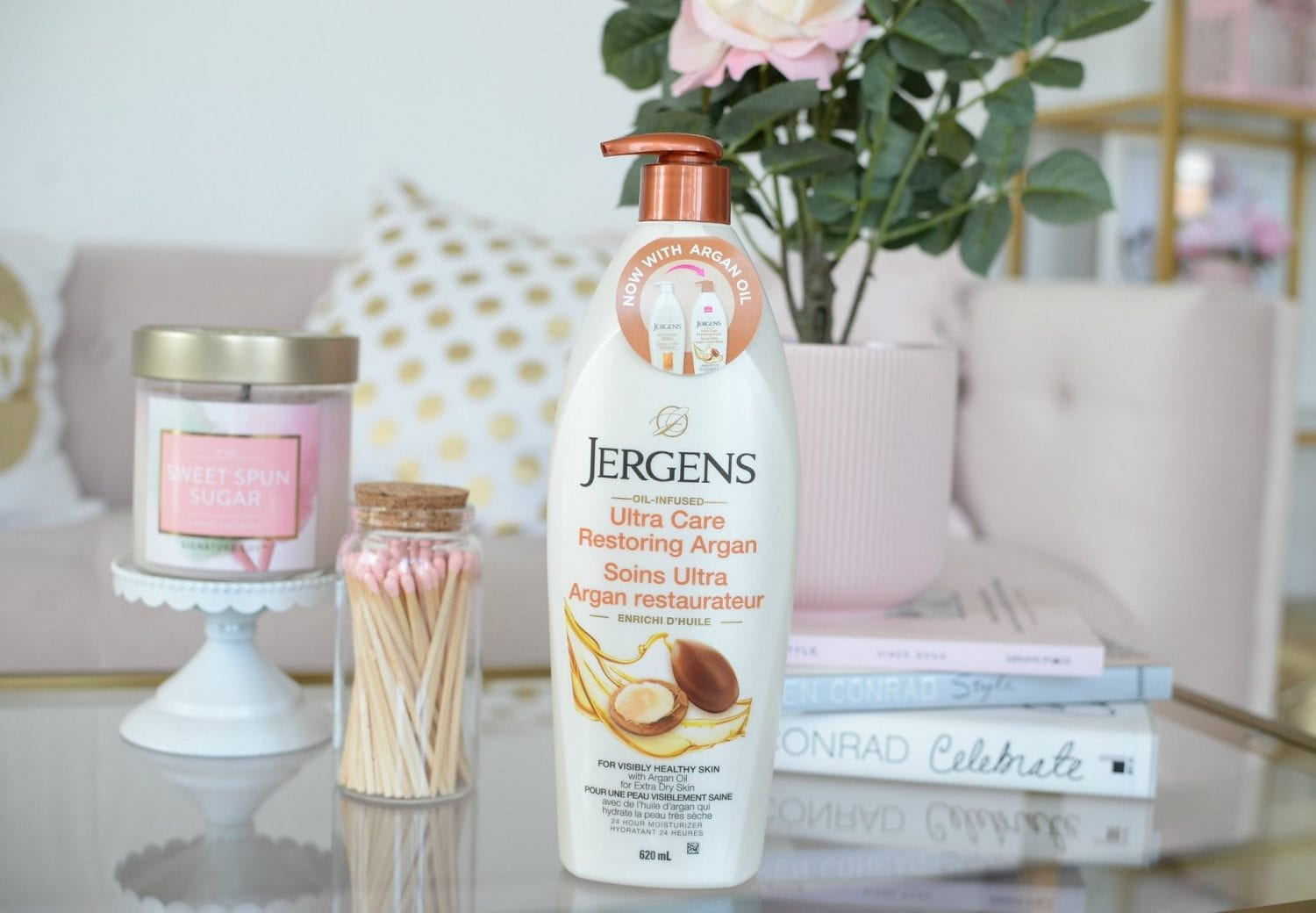 Jergens Ultra Care Restoring Argan Lotion