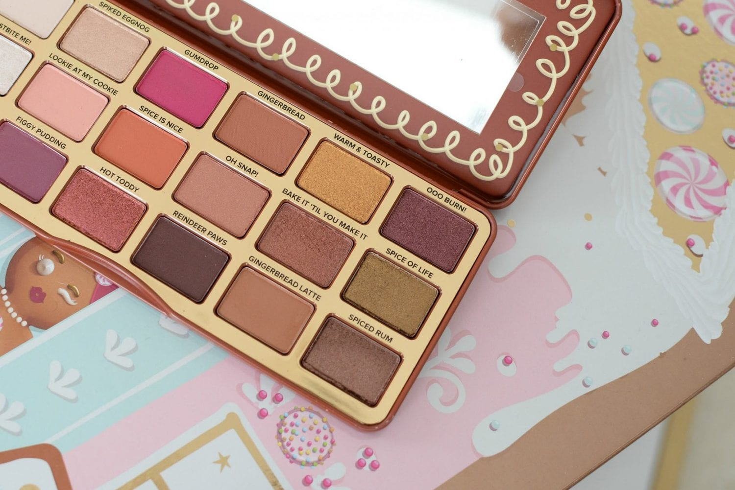 Too Faced Gingerbread Spiced Palette