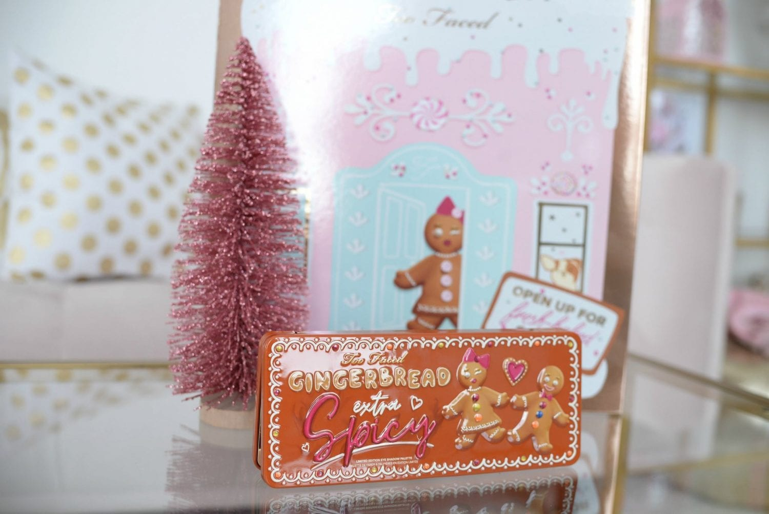 Too Faced Gingerbread Extra Spicy palette