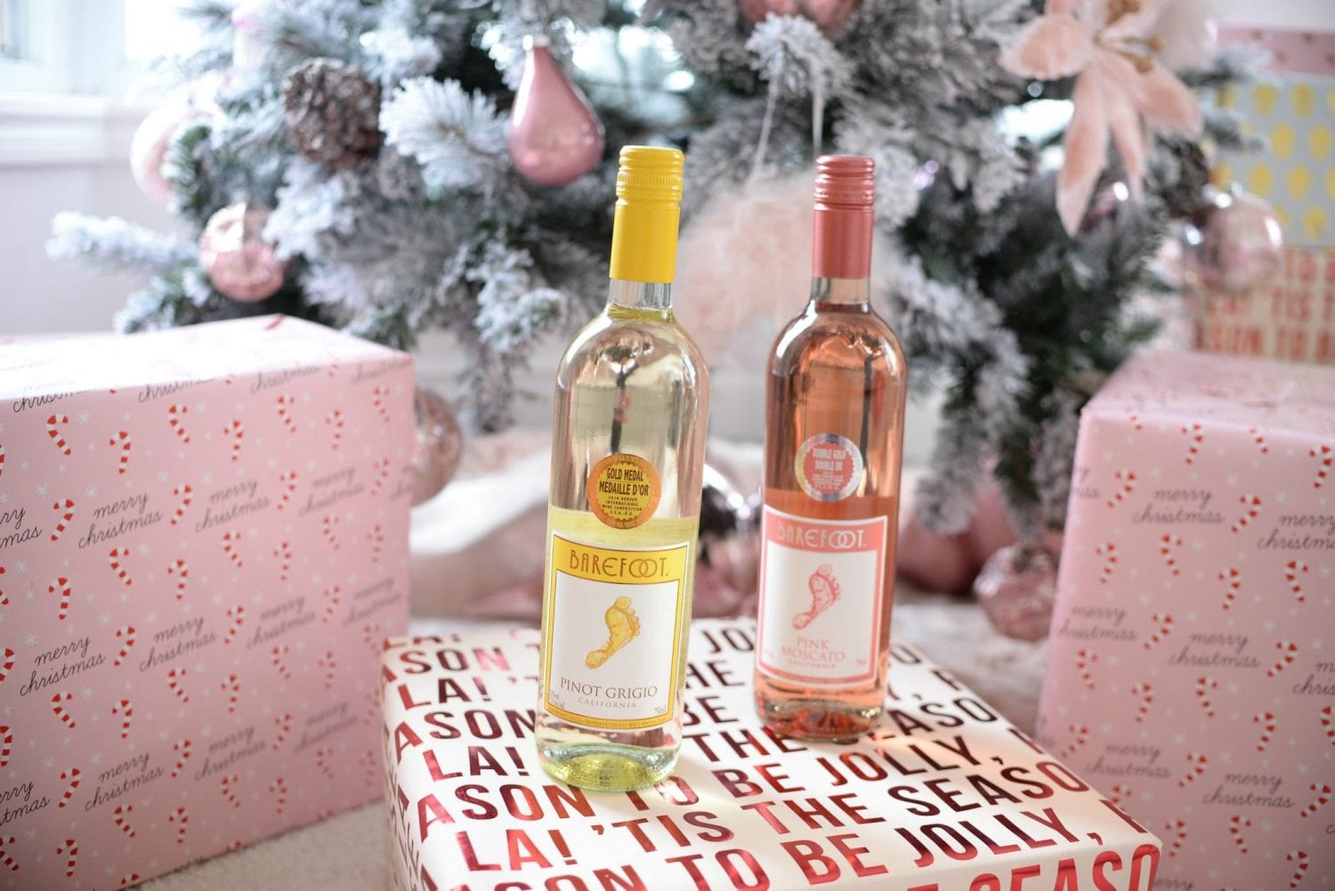 Last-Minute Christmas Gifts, barefoot wines