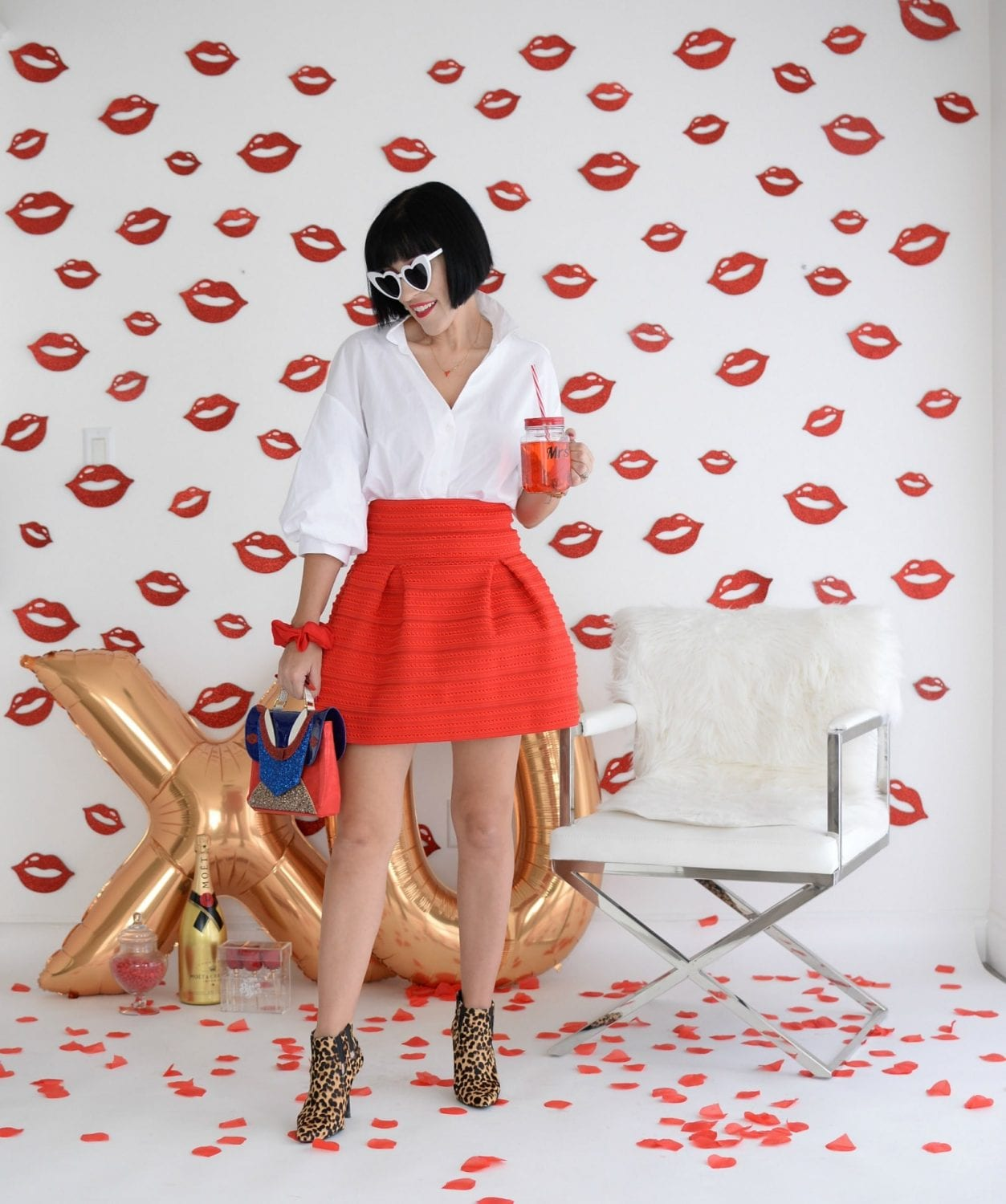 How To Wear A Red Lip This Valentine's Day