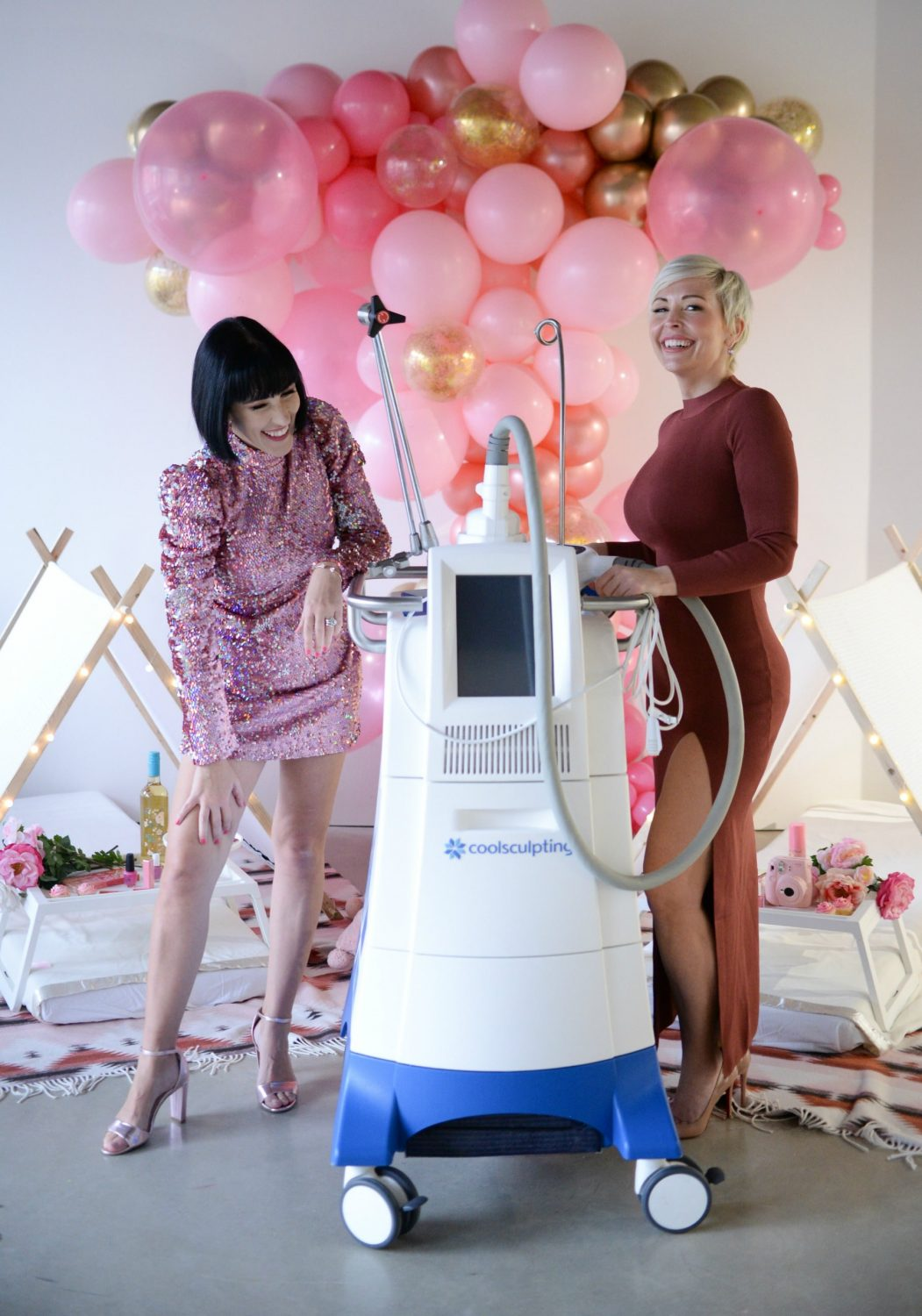 Freezing the Fat with Coolsculpting