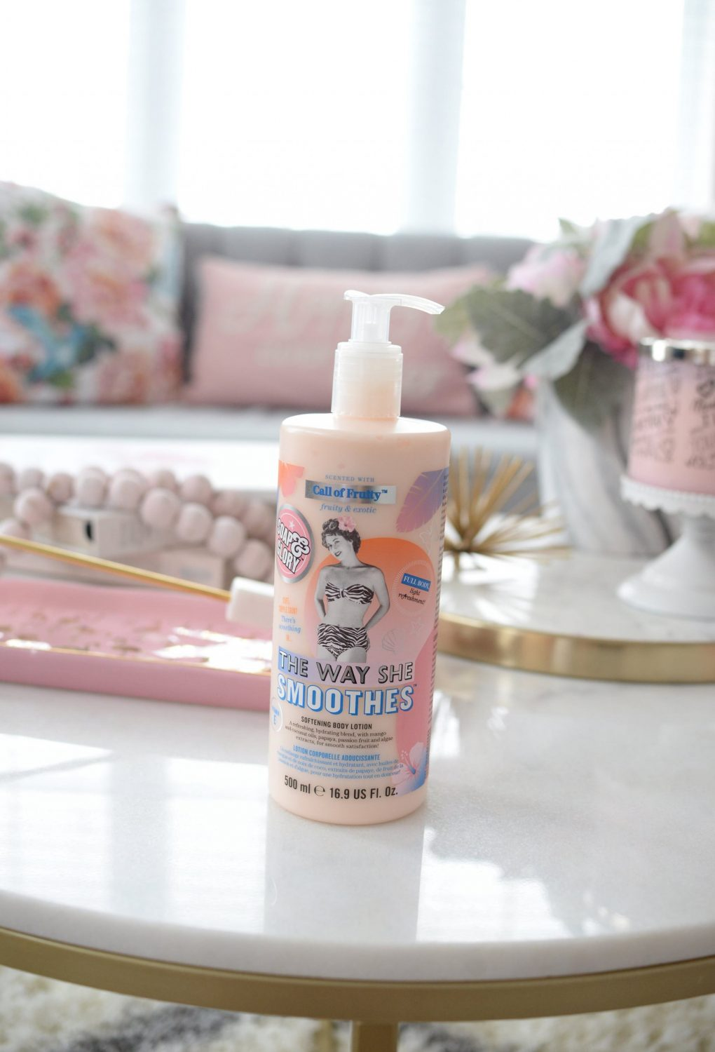 soap & glory Fruity The Way She Smoothes Body Lotion