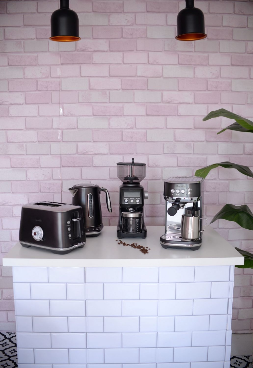 Breville Black Stainless Steel Luxe Collection